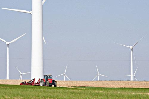 tracteur éolienne